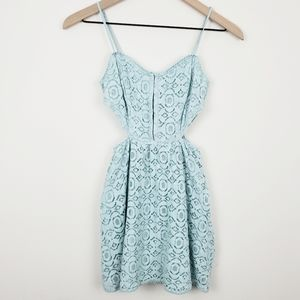 Kendall & Kylie Lace Overlay Dress Size XS